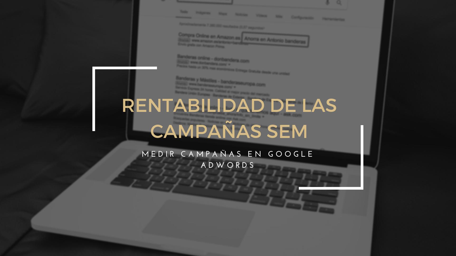Como medir la rentabilidad de las Campañas de Google  Adwords - SEM