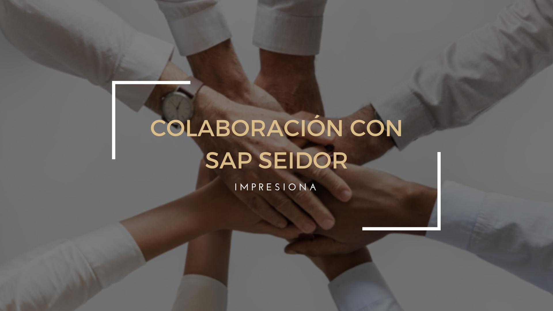 Grupo Impresiona y SAP SEIDOR firman un acuerdo de colaboración