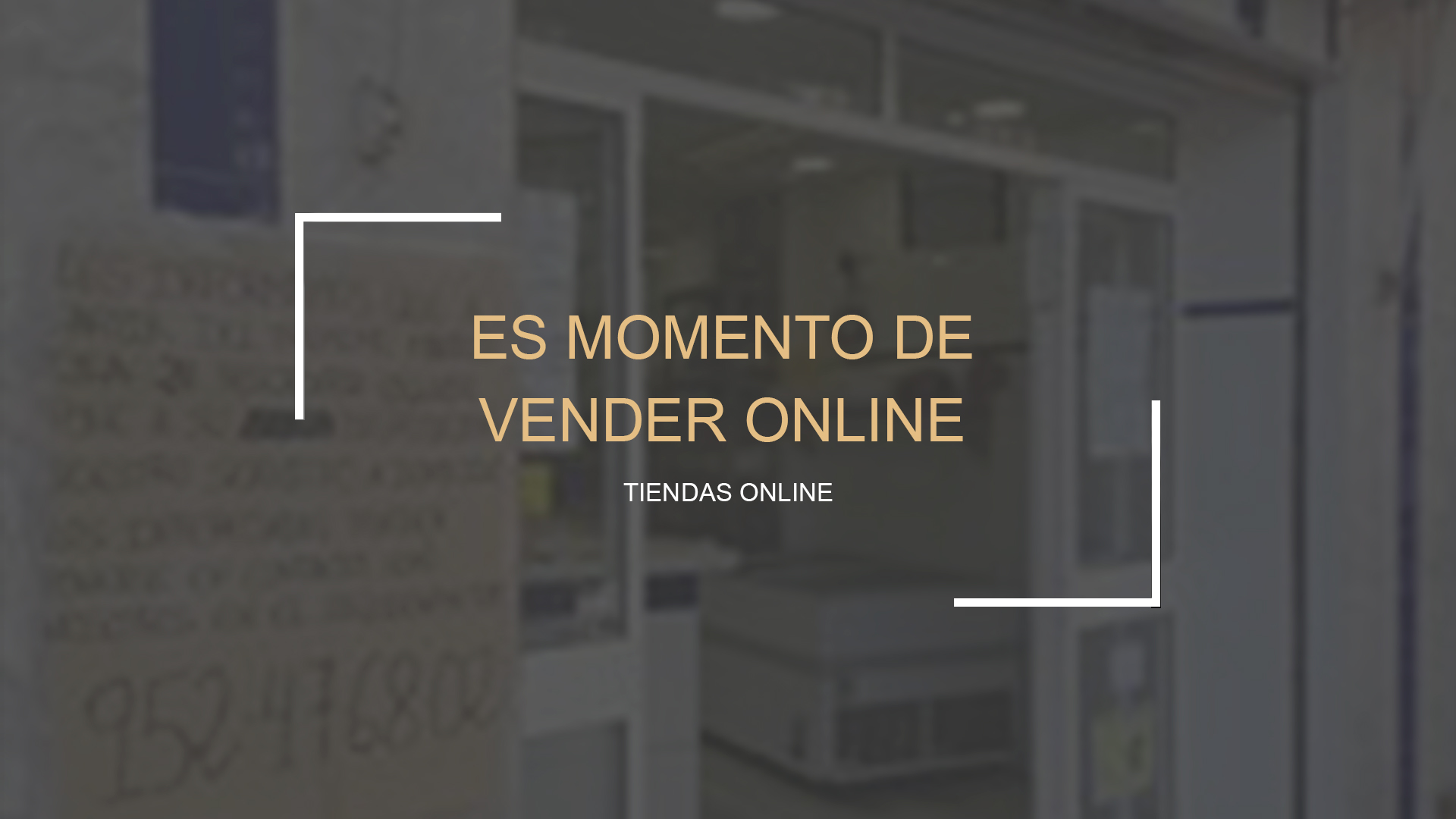 Es el momento de vender On line!