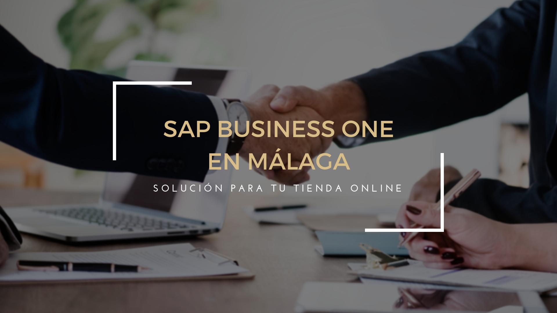 SAP Business One en Málaga: la mejor solución para tu tienda online